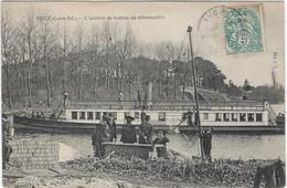 44  Suce  Sur Erdre  -  Pres De Nantes  -   L'arrivee Du Bateau  Au Debarcadere - Otros Municipios