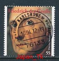 GERMANY Mi.Nr. 2906 300. Geburtstag Von Friedrich Dem Großen - Used - Oblitérés