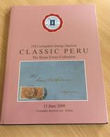 "Auktionskatalog Corinphila 2009 ""Classic Peru"" - Catalogues For Auction Houses"