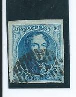 OCB 7 Of 11 Hoekzegel Links Boven - 1849-1865 Medaillen (Sonstige)