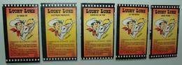 Lucky Luke 5 Strips Morris Vache GROSJEAN Dargaud 1984 - Collections