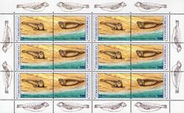 Turkmenistan - 1993 - WWF - Caspian Seal - Mint Miniature Stamp Sheet - Turkmenistan