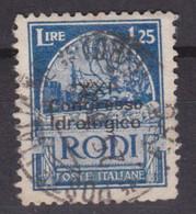 1930 EGEO Congresso Idrologico Lire 1,25 (18) Usato, Un Dente D'angolo Arrotondato - Aegean
