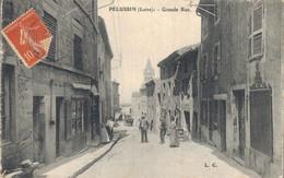 H0205 - PELUSSIN - D42 - Grande Rue - Pelussin