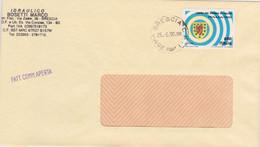 1990 COPPA MONDO CALCIO Lire 650 Scozia Isolato Su Fattura Commerciale - 1991-00: Marcofilia