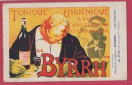 PUBLICITE BYRRH---Vin Tonique Et Généreux--Concours D'Affiches----6° Prix Illustrateur -P-ANDRE - Advertising
