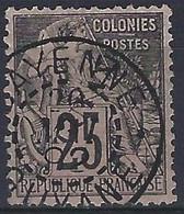 FRANCE GUYANE N° 23 Obl CAYENNE GUYANE - Oblitérés