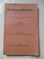 LES  SCIENCES  NATURELLES  GEILLUSTREERD   Gesigneerd  Par  R .  STERCKX   1927--28 - Livres Dédicacés