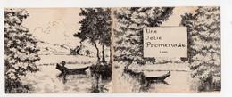 Méréville  (91 Essonne) Petit Carnet De Vues  UNE JOLIE  PROMENADE   (PPP28677) - Dépliants Turistici