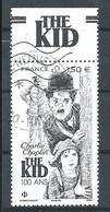 FRANCIA 2021 - Charlie Chaplin - Cachet Rond - Gebraucht
