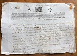 REPUBBLICA DI VENEZIA  - PRESTITO OBBLIGAZIONARIO A.Q. - IN BUONA PARTE MANOSCRITTO DEL GENNAIO 1620 - Historical Documents