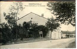 Dpt 55 Gironville Maison Bombardee Par Les Allemands  1915 EV BE - Other Municipalities