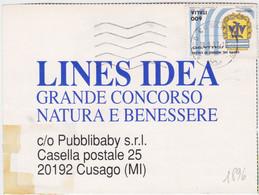 1990 COPPA MONDO CALCIO Italia 1990 Lire 600 Argentina Isolato Su Cartolina - 1981-90: Marcofilia