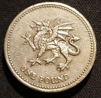GRANDE BRETAGNE - 1 POUND 1995 - Elizabeth II - 3e Effigie - Dragon Gallois - KM 969 - 1 Pound