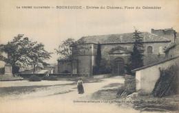 H0205 - ROCHEGUDE - D26 - Entrée Du Château - Place Du Colombier - Altri Comuni
