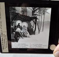 NOËL - Série Complète 8 Plaques De Verre Lanterne Magique - Illustrations Chanson -  Fin XIX ème. TBE - Diapositiva Su Vetro