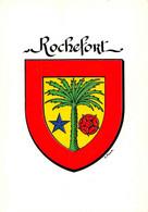 """¤¤  -  BELGIQUE  -    Héraldisme   -  Blason De L'Abbaye Cistercienne De """" ROCHEFORT """"         -  ¤¤ - Rochefort"""