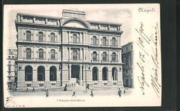 Cartolina Napoli, Il Palazzo Della Borsa - Napoli (Naples)