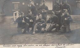 ABL , Militaires De Position Fortifiée De Namur , N Sur Le Coin De Col De L'homme En Capote - War 1914-18