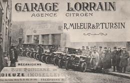GARAGE LORRAIN R. MILEUR & P. TURSIN  DIEUZE ( 57 )  Photog; AHISWEH. - Toerisme