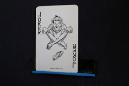 Joker-Playcards/Carte A Jouer /  Dos De Cartes Avec Publicité/ Joker-the World Joker - Made In Hong Kong - Other