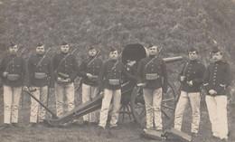 ABL , ARTILLEURS + CANON, Photographe  ANVERS - War 1914-18