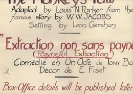 Guerre 39 45 Affiche Théâtre ILAG Camp D'internement Civils étranger Pays Belligérants Grande Caserne St Saint Denis - WW II