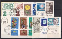 Israel - Lot Aus 1960 - Gestempelt Used Mit Tab - Usados (con Tab)