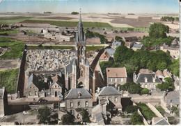 NEUVILLE SAINT REMY : EN AVION AU DESSUS DE NEUVILLE ST REMY N°3 : L'église - Other Municipalities