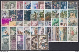 ESPAÑA 1972 Nº 2071/2116 AÑO NUEVO COMPLETO,46 SELLOS - Full Years