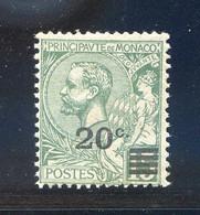 TIMBRES MONACO REF020521LI, Timbre N° 51, Neuf Avec Défaut De Gomme - Non Classificati