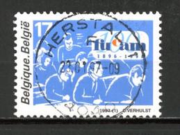 BE   2681  Obl  --   Centenaire FUCAM -  Obl. Centrale Parfaite Herstal  -  Gomme XX MNH - Used Stamps
