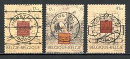 BE   2682 - 2684  Obl  --   Promotion Philatélie : Musées  -  Obl. Parfaite Herstal  23.01.97  -  Gomme XX MNH - Used Stamps