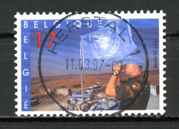 BE   2692  Obl  --   Casques Bleus Belges  -  Obl. Parfaite Herstal  1er Jour + 3  -  Gomme XX MNH - Used Stamps