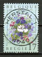 BE   2702  Obl  --   Floralies De Liège  -  Obl. Parfaite Herstal  1er Jour + 3  -  Gomme XX MNH - Used Stamps