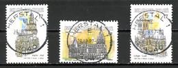 BE   2711 - 2713  Obl  --   Pour Le Tourisme  -  Obl. Parfaite Herstal  29.08.97  -  Gomme XX MNH - Used Stamps