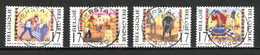 BE   2721 - 2724  Obl  --   Métiers Artisanaux  -  Obl. Parfaite Herstal  05.09.97  -  Gomme XX MNH - Used Stamps