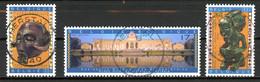 BE   2727 - 2729  Obl  --   Muséer Royal D'Afrique Centrale  -  Obl. Parfaite Herstal  03.10.97  -  Gomme XX MNH - Used Stamps