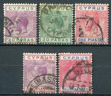 Zypern Nr.71/4 + 77         O  Used        (031) - Cyprus (...-1960)