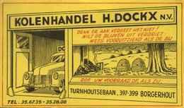 "Buvard Blotter Löschblatt BELGIQUE Deko "" Borgerhout - Bijenkorfjes & Kolenhandel H.Dockx "" - Idrocarburi"
