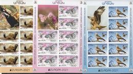 Karabakh Artsakh MNH ** 2021  Europa 2021 – Endangered National Wildlife Kb Imperforated M Rare - 2020