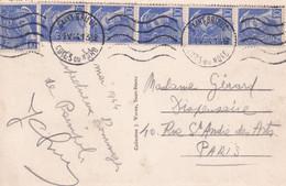 N°546x6 SUR JOLIE CARTE - 31/05/1944 - 1938-42 Mercure