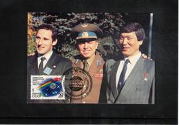 Russia USSR 1991 Space / Raumfahrt Interesting Postcard - Russia & USSR