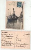 """Militaire // 1914-1918 // Bateau De Guerre Allemand(Donaumonitor """"Bodrog"""" - War 1914-18"""