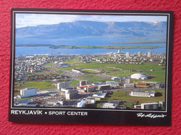 POSTAL POST CARD CAMPO ESTADIO STADIO STADIUM STADE STADION FÚTBOL? FOOTBALL ? SOCCER ? REYKJAVÍK SPORT CENTER REIKIAVIK - Iceland