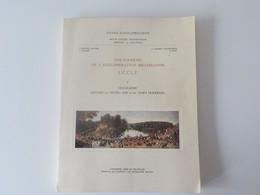 1958 Uccle Ukkel Université Libre De Bruxelles Géographie Histoire Du Moyen Age & Temps Modernes + Carte - Uccle - Ukkel