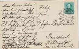 10 Karten / Briefe Ungarn Mit Bahnpoststempeln / TPO (09) - Covers & Documents