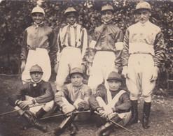 1915circa-foto Di Gruppo (Jockeys Fantini) Non Viaggiata - Paarden