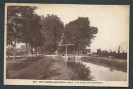 N° 225 - Saint Amand-Montrond ( Cher ) - Le Canal Aux Fromentaux   - Ha 37 - Saint-Amand-Montrond