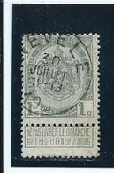 OCB 81 - Afstempeling NEVELE - COBA 8 - 1893-1907 Wappen